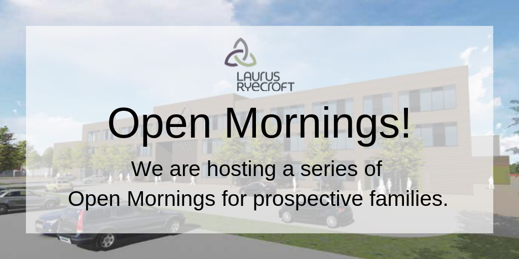 Book your place on a Laurus Ryecroft Open Morning