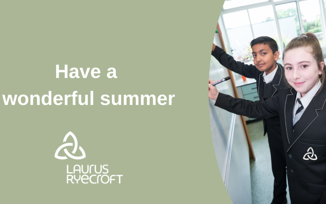 An end of year message from Laurus Ryecroft