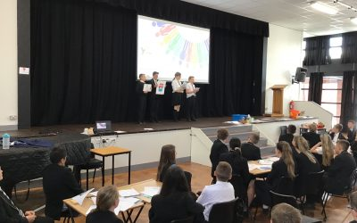Laurus Ryecroft students prove they really are the business