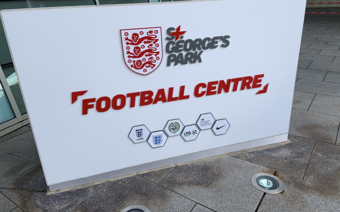 Ryecroft footballers follow in England's footsteps