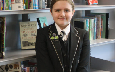 Local accolade for caring Ryecroft student Eden