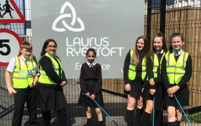 Our dedicated Laurus Litter Pickers are on patrol in the sunshine