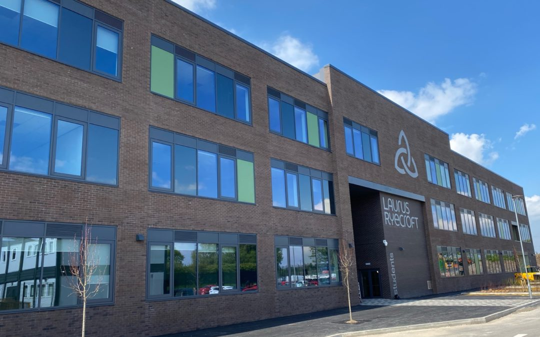 Action-packed first term in new school building