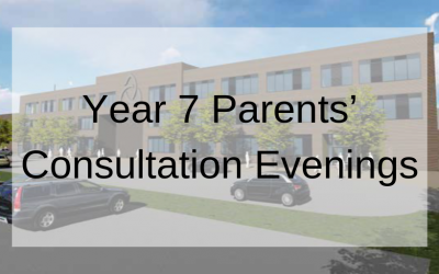 Year 7 Parents' Consultation Evenings
