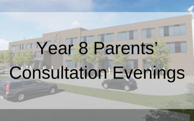 Year 8 Parents' Consultation Evenings